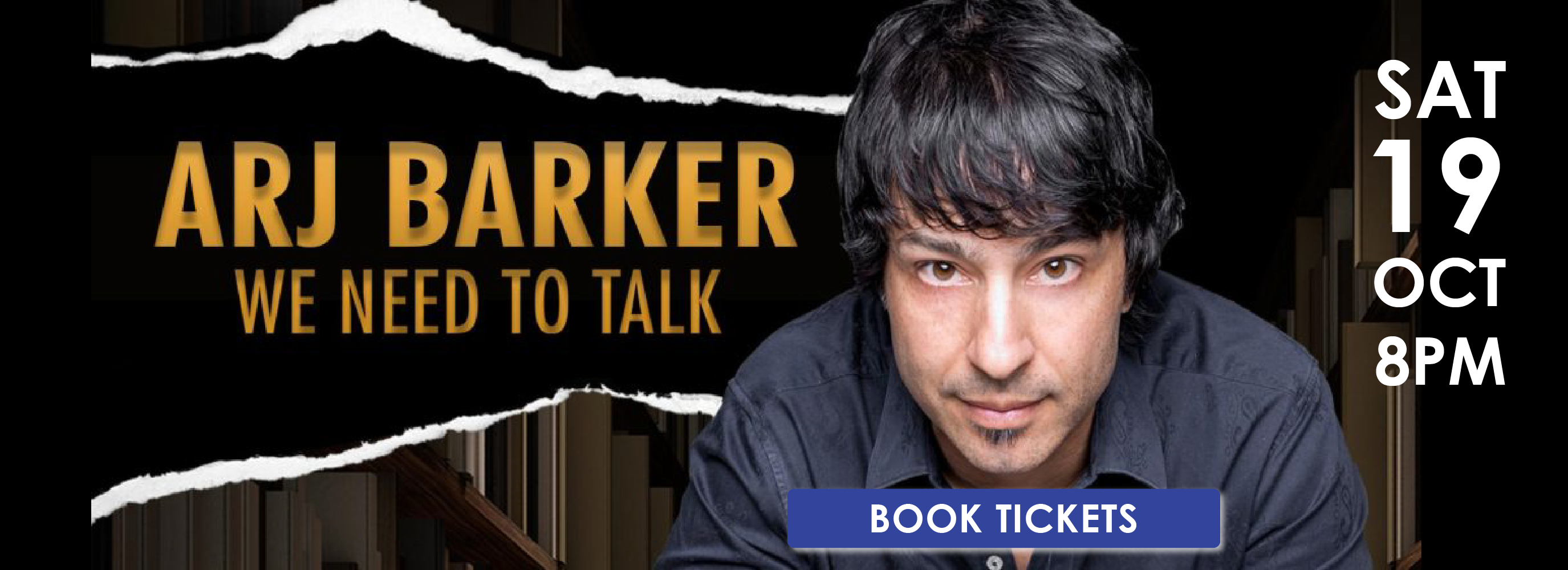 Arj Barker is coming to Cardinia Cultural Centre with his new comedy performance on Saturday 19 October at 8pm