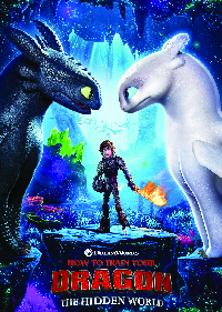How to Train Your Dragon, The Hidden World, School Holiday Movie