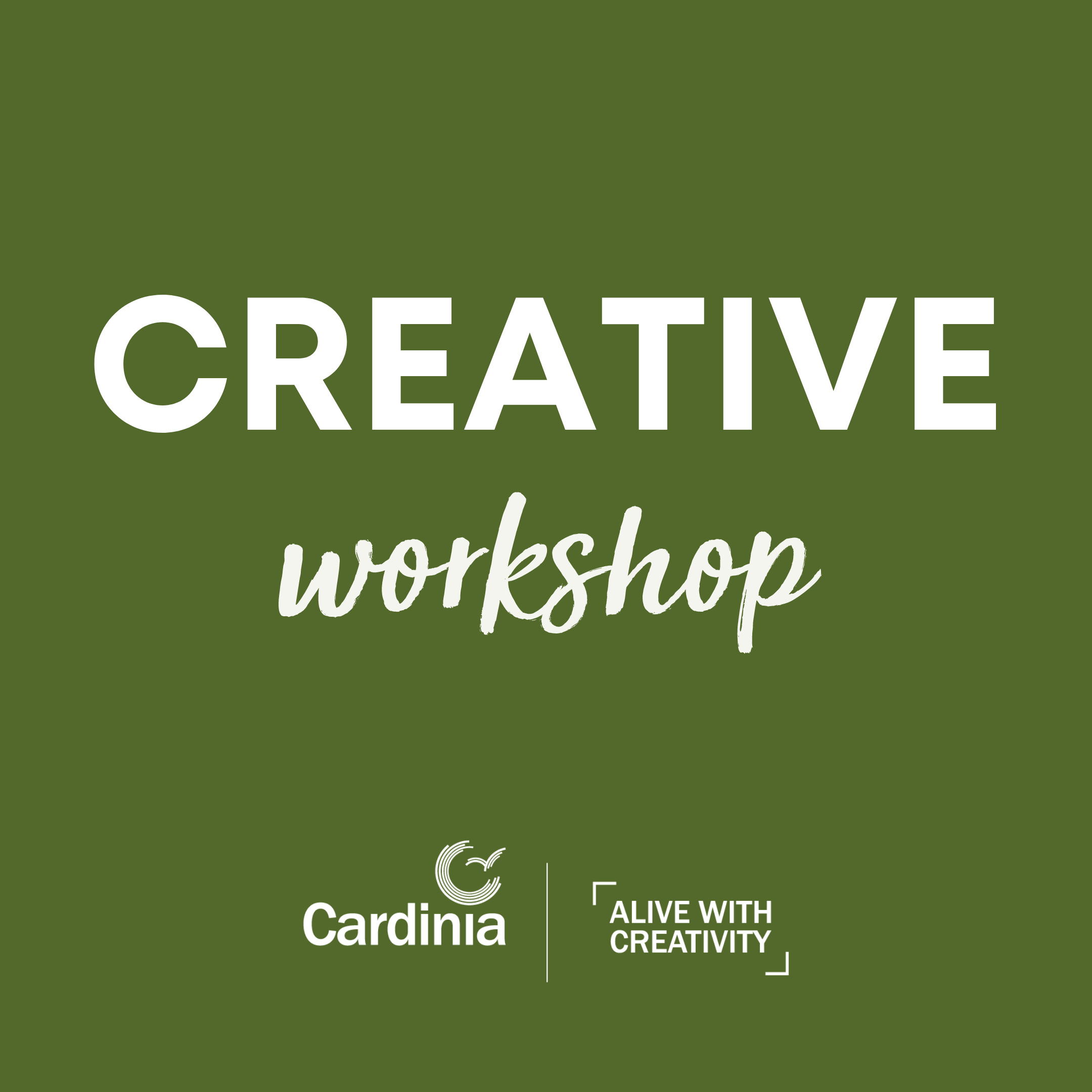 Creative and skills development workshops, delivered every Wednesday.