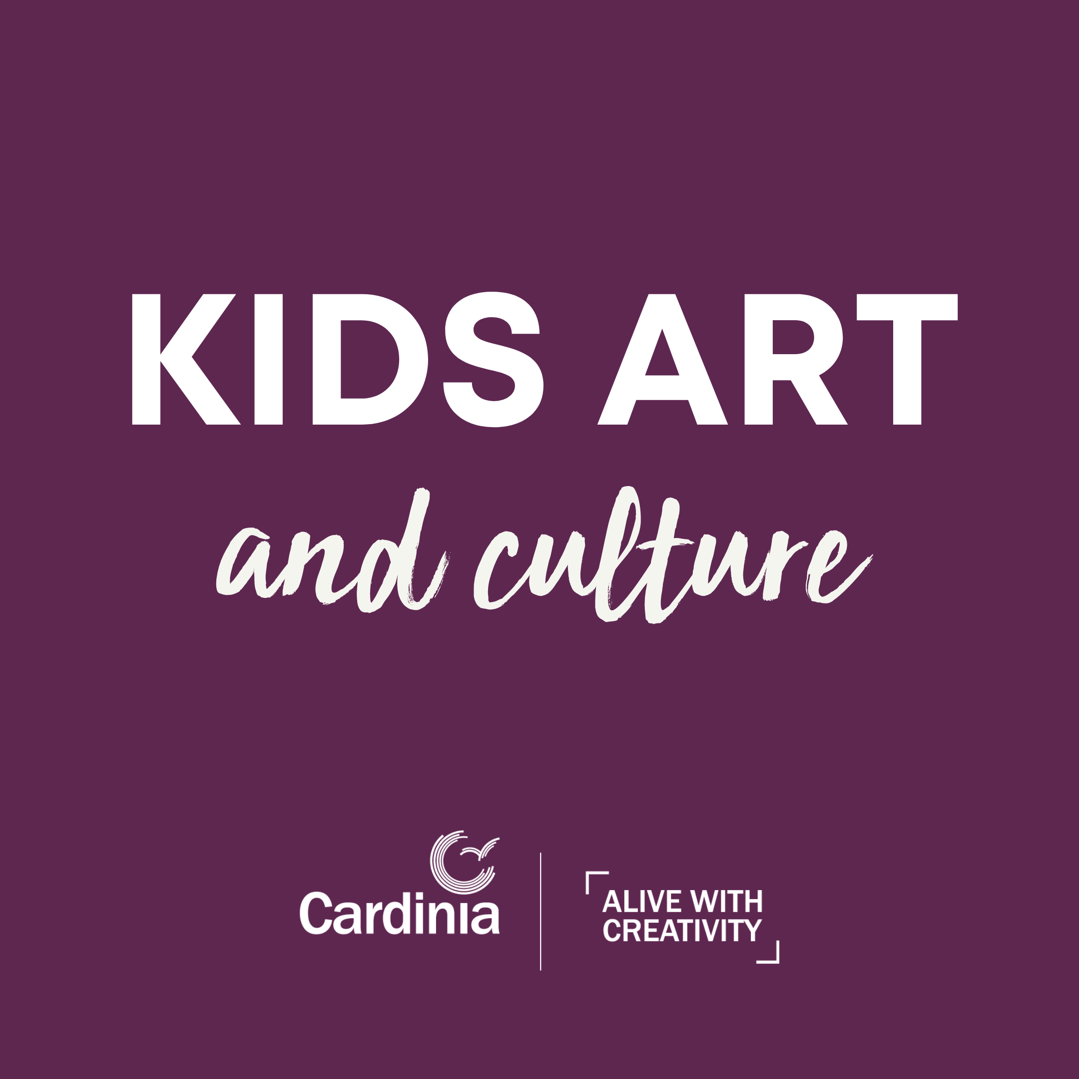Art and culture program for the kids.