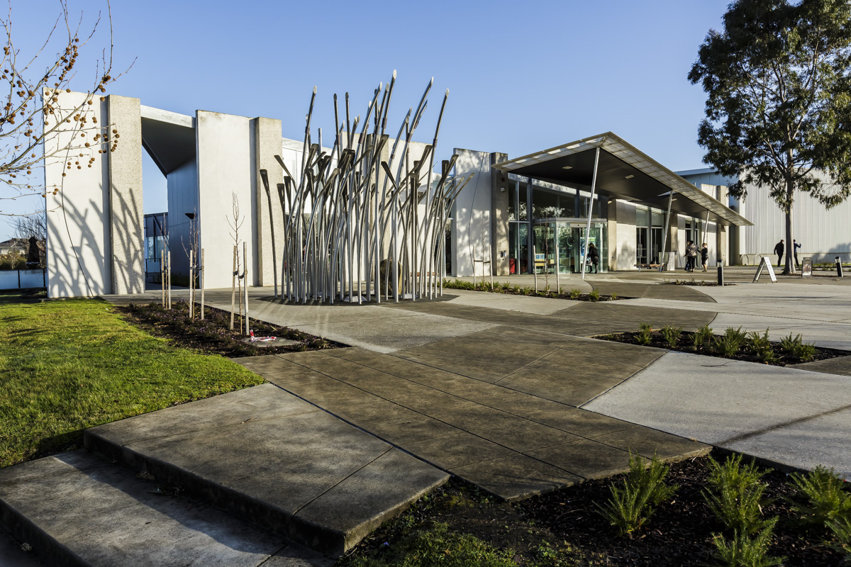 Cardinia Cultural Centre front view