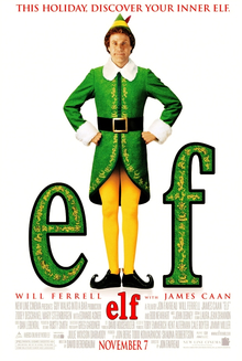 Elf, screening Friday 21 Dec, 5pm
