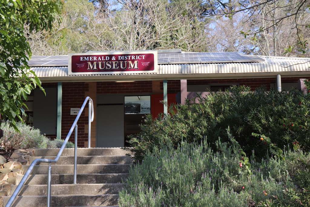 Emerald Museum has reopened to the public
