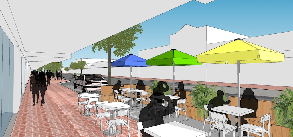 Residents are set to experience new outdoor dining environments across the shire as we gear up for a 'COVIDSafe Summer'.