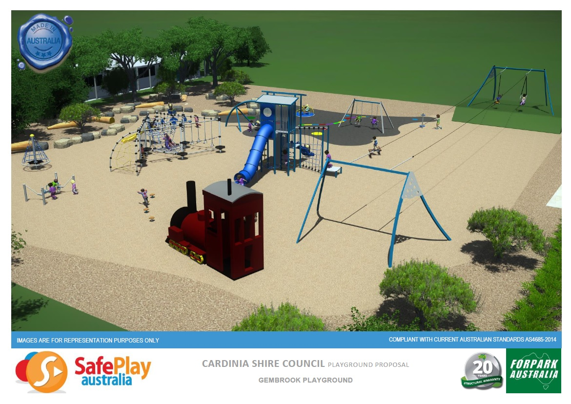 Safe Play playground concept